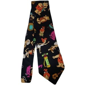 Fred Flinstone Mens Neck Tie
